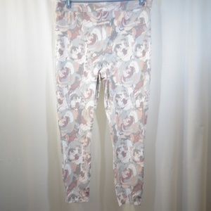 SPANX Floral Print Jeggings Jeans Pants Size 2X